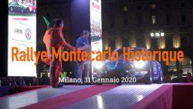 Montecarlo Historique 2020, la partenza da Milano