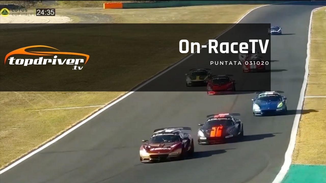 ON RACE TV | Puntata 031020