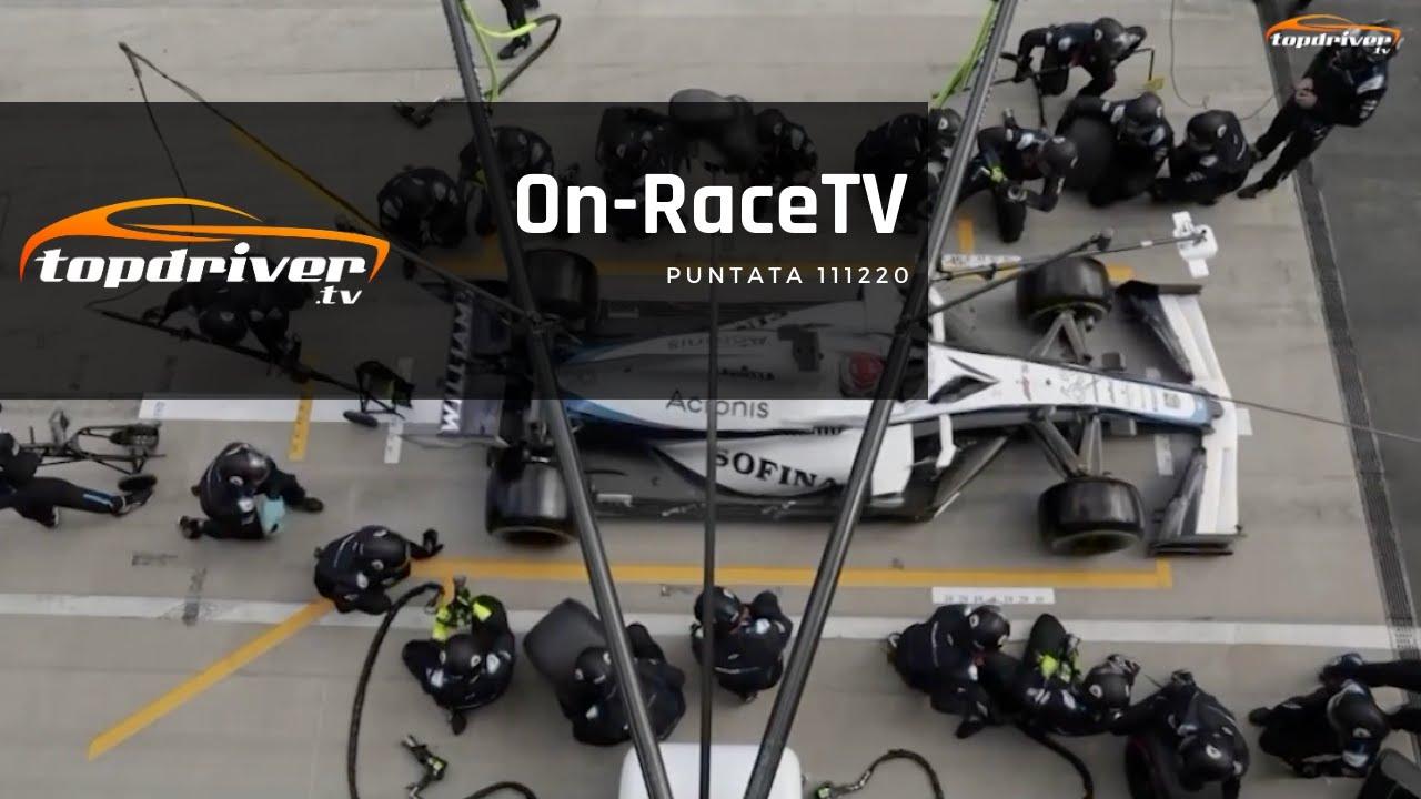 OnRaceTv | Puntata 111220
